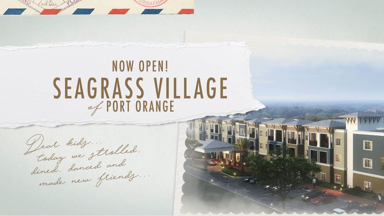 Seagrass Village of Port Orange - Now Open!